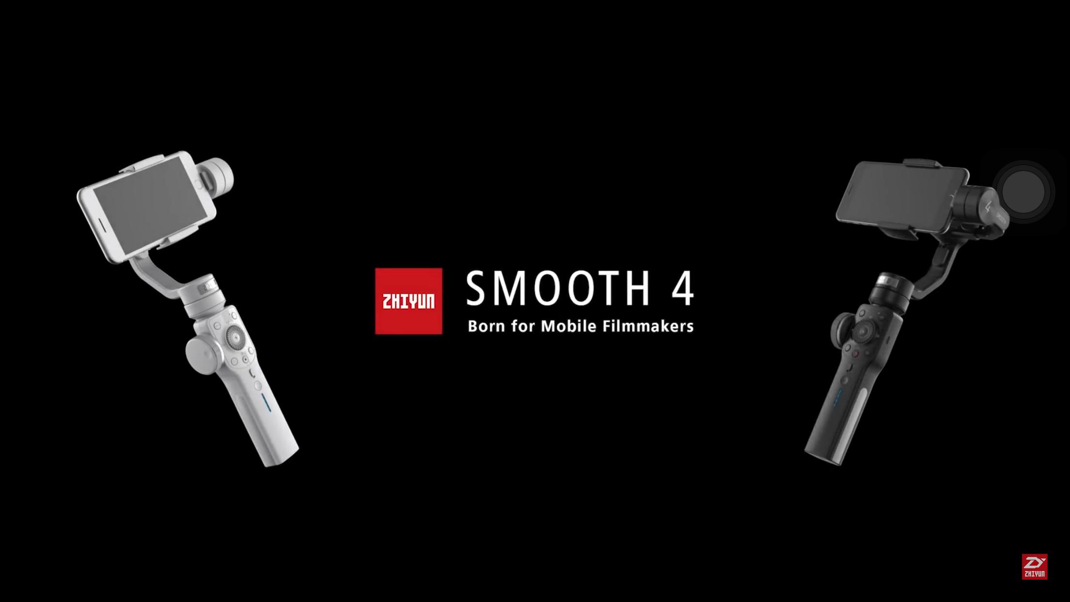 So sánh zhiyun smooth 4 với smooth Q
