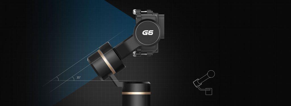 Feiyu G6 gimbal chống rung cho Gopro