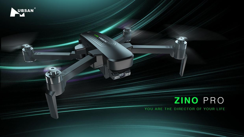 Flycam Hubsan Zino Pro