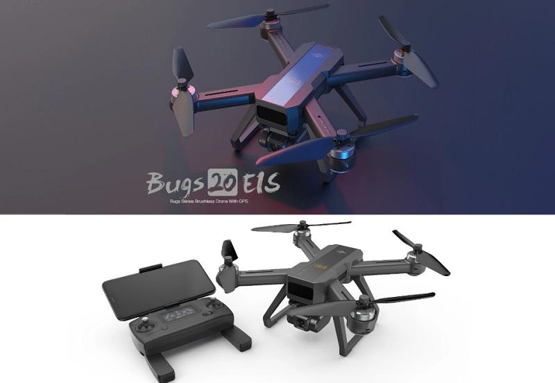 Flycam MJX Bugs 20 EIS - Camera 4K chống rung điện tử, bay 22 phút