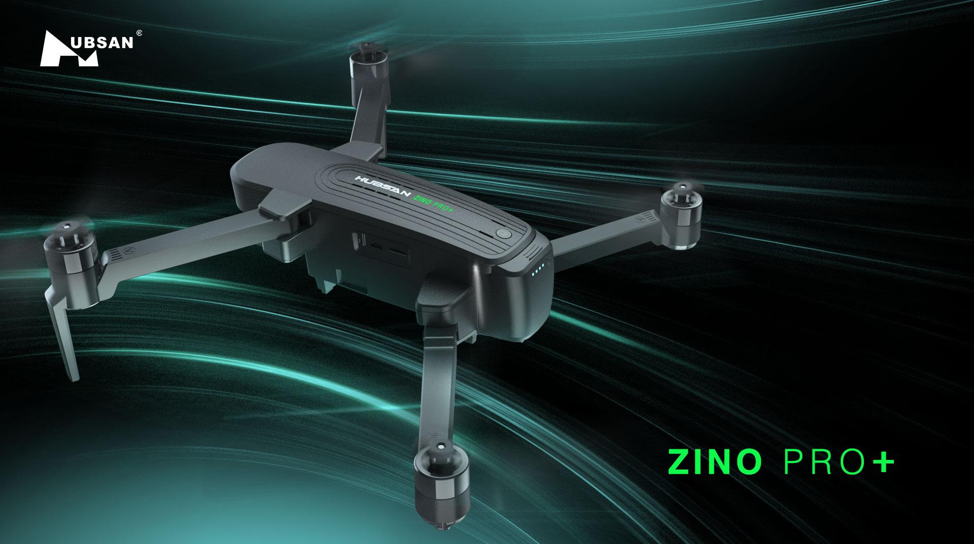 Flycam Hubsan Zino Pro Plus