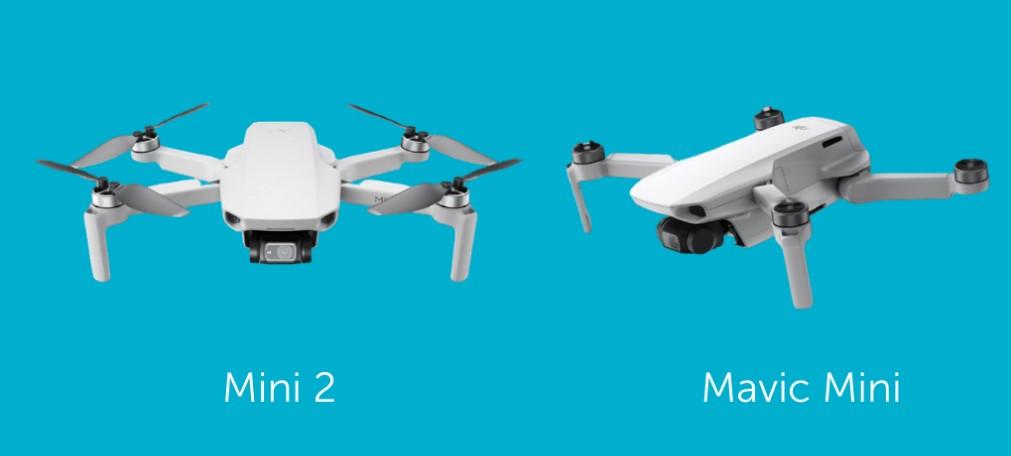So sánh DJI Mavic Mini và DJI Mavic Mini 2